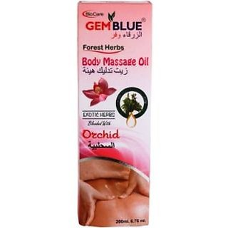 Biocare Gemblue Orchid Body Massage Oil
