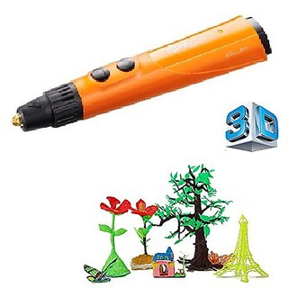 da Vinci 3D Printing Pen for 3D Drawing Using 10 Colors of PLA Filament