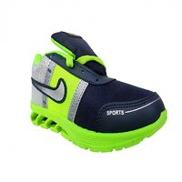 Super Divine Collections - Blade / Running  Outdoor Sports Shoes-Navy Blue  Green