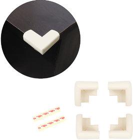 High Quality,High Density, L-Shaped Large (7*7*3.2 cm) NBR Corner Cushions-Pack of 4