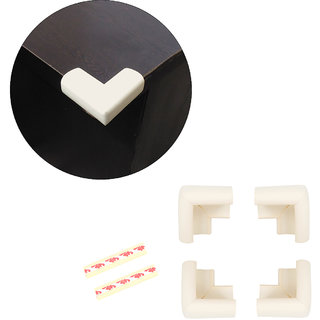 High Quality,High Density, L-Shaped Large (6.5*6.5*3.5 cm) Extra Thick NBR Corner Cushions-Pack of 4