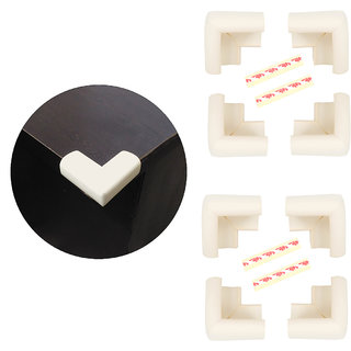 High Quality,High Density, L-Shaped Large (6.5*6.5*4 cm) NBR Corner Cushions-Pack of 8
