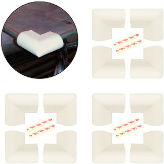 High Quality,High Density,U Shaped Small (5*5*2.5 cm) NBR Corner Cushions-Pack of 12
