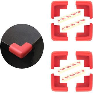 High Quality,High Density, L-Shaped Medium (5.5*5.5*3.2 cm) NBR Corner Cushions-Pack of 8