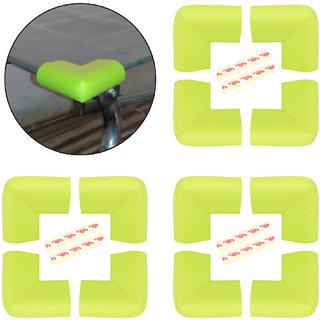 High Quality,High Density,U Shaped,Medium (5.5*5.5*3.5 cm)NBR Corner Cushions-Pack of 12