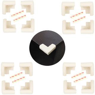 High Quality,High Density, L-Shaped Large (6.5*6.5*4 cm) NBR Corner Cushions-Pack of 16