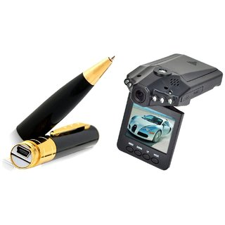 Spy Guru Combo Of Spy Pen And Car DVR Cameras