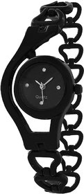 Watches for Women Glory-Black-Analog-Casual-Watch