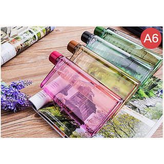 A6 Notebook Bottle Ultra Slim Memo Bottle (350 ML) 1 Piece only