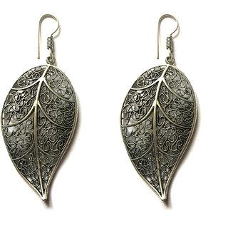 Bgyle Leaf Shaped Earring