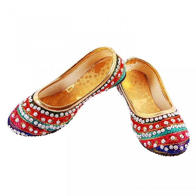 Buy Khussa Designer Marriage Jutti For