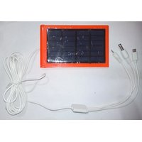 Solar Charger With Smart Chip For Charging Android, I Phone, Samsung, Lenovo, Sony And Camera