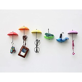 Buy Colorful Umbrella Wall Hooks 3pcs Lot Self Adhesive