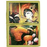 Handmade Radha Krishna Bahi Notebook