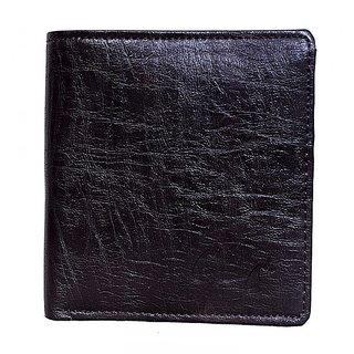 Men A2 Formal Black Genuine Leather Card Holder Fancy Casual Wallet
