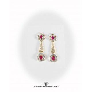 Guarantee Ornament House Imitation Jewellery Designer Best Quality American Diamond Earrings Ear5