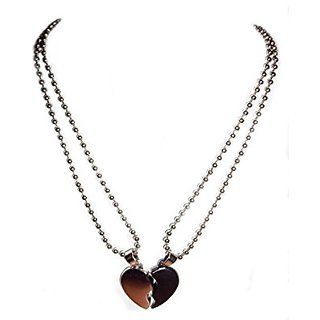 Indo heart 2 piece of loket with chain
