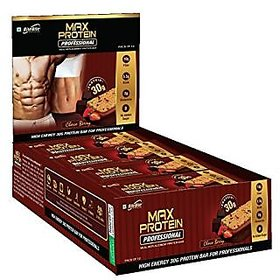Rite Bite Max Protein Professional Choco Berry - 30 grams protein - 12 bars