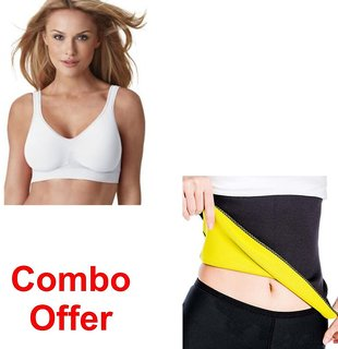 Combo Of Smart Bra Pack Of 3 With Hot Shepar-L