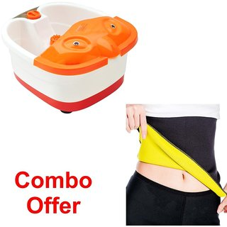 Combo Of Foot Spa With Hot Shepar-L