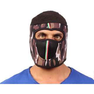 sushito  Millitary Design Fancy Face Mask JSMFHFM0755N