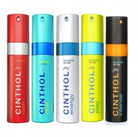 NEW combo Cinthol Assorted Spray Deodorant Combo For Men - 150ml (Pack Of Any 3 Pcs)