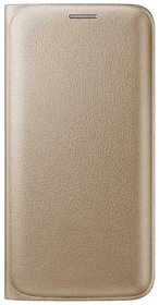 Snaptic Limited Edition Golden Leather Flip Cover for Coolpad Max
