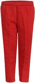 HAIG-DOT Red Open Bottom Track Pant for Boys
