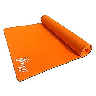 Gravolite Plain Yoga Mat, 36 x 78 x 10-inch (Orange)