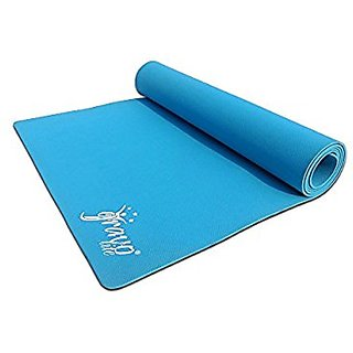 Gravolite Plain Cyan Yoga Mat 3MM