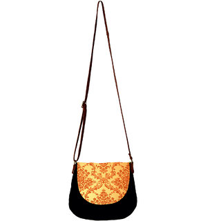 Barisa Epic Multicolor Canvas Cloth Casual Sling Bag - BESBR173