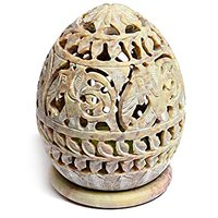 Cratly Candle Holder / Tea Light Holder / Candle Lamp Ball / Cup Candle Holder 3x2.5x3 Inch ( LBH) - Candle Free