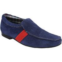 Guava Men Blue Loafers