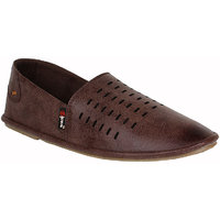 Guava Men Brown Loafers - 101598058