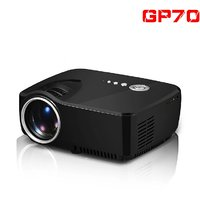 GP70 800 Lumens Led Portable Projector With HDMI/AV/VGA