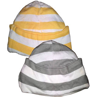 0bf575687db Buy Pure Cotton Baby Cap s - Pack of 2 Online - Get 50% Off