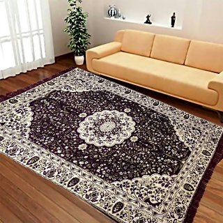 Akash Ganga Chenille Designer Carpet (1Pc) (Carpet-03)