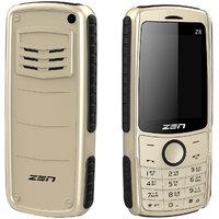 ZEN Z8 DJ Dual SIM Feature Phone (Golden Black)