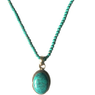 Bgyle Pendant With Long Beads Chain