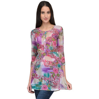 Tunic Nation Women Floral Print Tunic