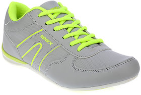 Sparx Women's Gray & Green Sports Shoes