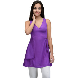 Tunic Nation Women Purple Tunic