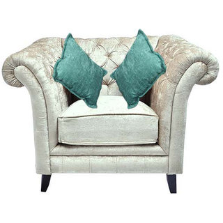 Empire Three+Two+One Seater (Fabric Ivory Colour)