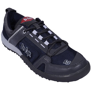 Lee Cooper Men's Blue & Gray Sports Shoes