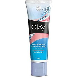Olay Moisture-Balance Foaming Face Wash, 100g
