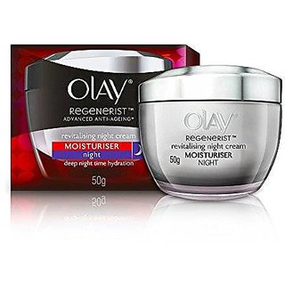 Olay Regenerist Advanced Anti-Ageing* Revitalizing Night Skin Cream (Moisturier), 50g