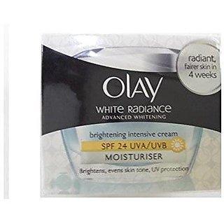 Olay White Radiance Advanced Whitening Brightening Intensive Cream Moistriser,50g