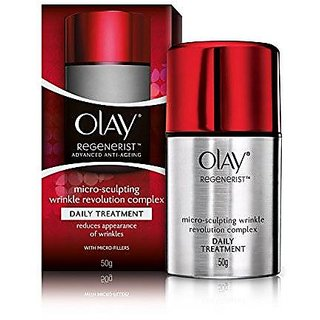 Olay Regenerist Advanced Anti-Ageing Micro-Sculpting Wrinkle Revolution Complex Daily Treatment, 50g