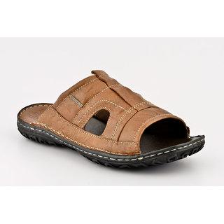 Lee Cooper Men's Tan Slip on Sandals