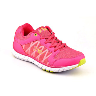 Lee Cooper Women's Pink Sports Shoes